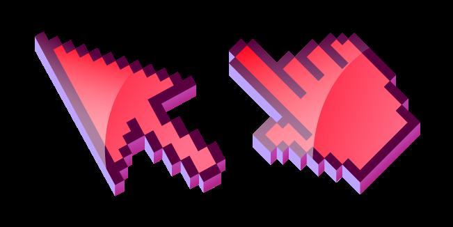3D Красный Пиксель