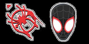 Курсор Человек-Паук и Логотип Майлза Моралеса