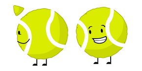 Battle for Dream Island Tennis Ball Cursor