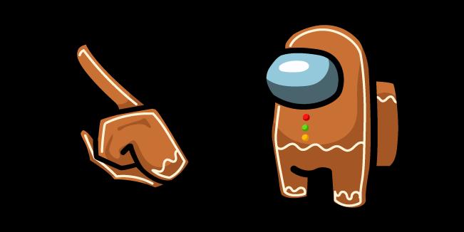 Among Us Gingerbread Character