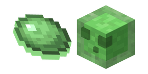 Minecraft Slime and Slimeball Cursor