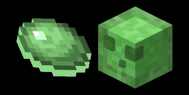 Minecraft Slime and Slimeball