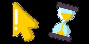 Minimal Hourglass Curseur