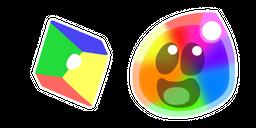 Slime Rancher Rainbow Slime and Plort