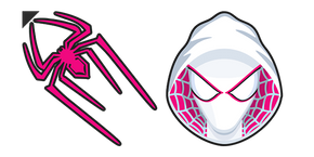 Spider-Gwen Logo Cursor