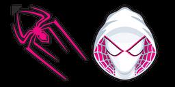 Spider-Gwen Logo Curseur