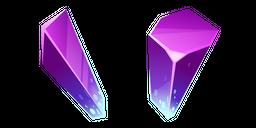 Fluorite Crystal Cursor