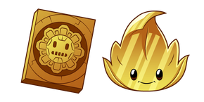 Plants vs. Zombies Gold Leaf Cursor