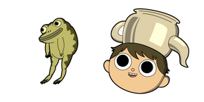 Over The Garden Wall Gregory and Frog