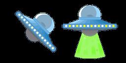 UFO Flying Saucer Curseur