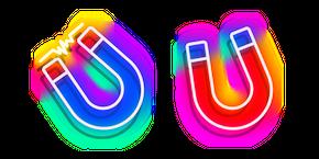 Neon Magnet Cursor