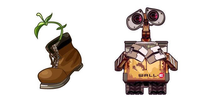 WALL-E and Plant