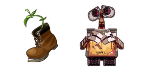 Курсор ВАЛЛ-И и Растение
