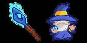 Cute Magician and Staff Cursor