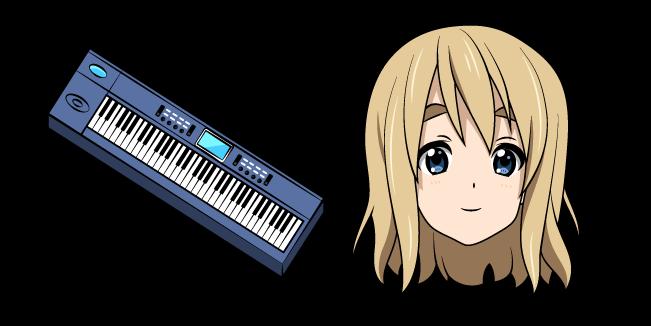K-ON Котобуки Цумуги и Синтезатор