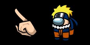 Курсор Among Us Naruto Character