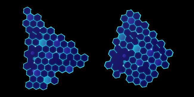 Hexagonal Modern Technology