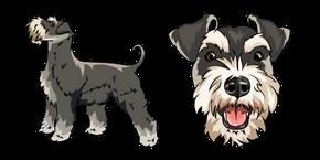 Schnauzer Dog Cursor