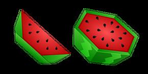 Origami Watermelon Cursor