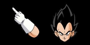 Dragon Ball Vegeta Cursor