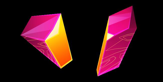 Pink Zircon Crystal