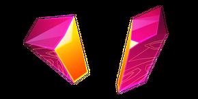 Pink Zircon Crystal Cursor