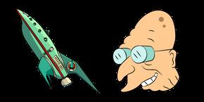 Futurama Farnsworth and Planet Express Ship Cursor