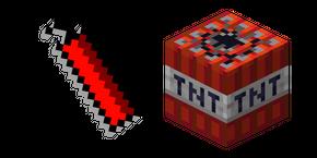 Minecraft Dynamite and TNT Curseur