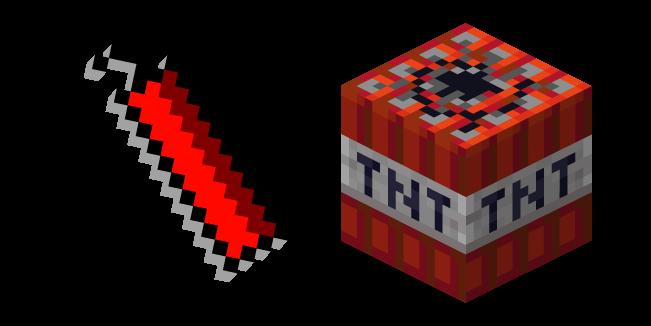 Minecraft Dynamite and TNT