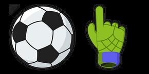 Курсор Soccer Ball