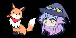 Gacha Life Alisa and Fox Cursor