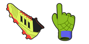 Курсор Soccer Boot