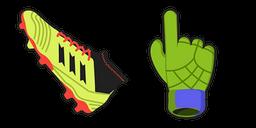 Soccer Boot Curseur