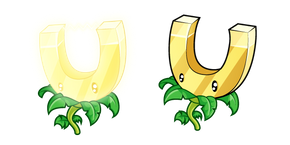 Plants vs. Zombies Gold Magnet Cursor