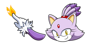 Sonic Blaze the Cat Cursor