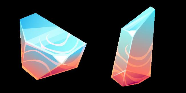 Creedite with Fluorite Crystal