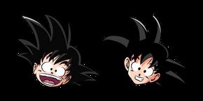 Курсор Dragon Ball Малыш и Подросток Гоку