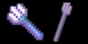 Курсор Minecraft Зачарованный Трезубец