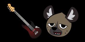 Aggretsuko Haida and Guitar Cursor