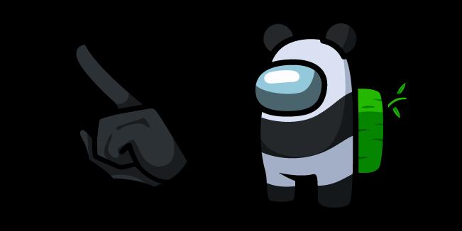 Among Us Panda Character
