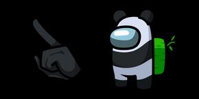 Курсор Among Us Panda Character