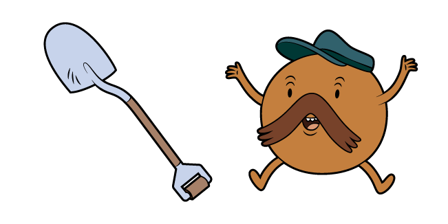 Adventure Time Starchy and Shovel