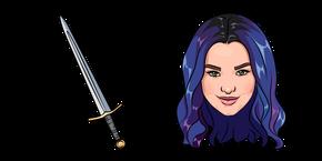 Descendants 3 Mal and Sword Curseur