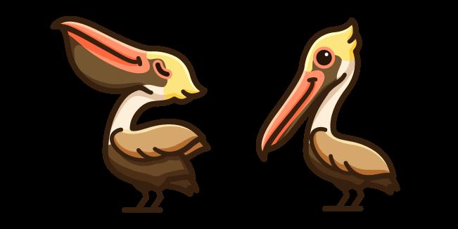 Cute Brown Pelican