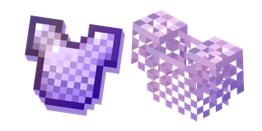Minecraft Enchanted and Chainmail Armor Cursor