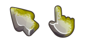 Materials Rock with Moss Cursor
