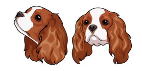 Cavalier King Charles Spaniel Dog Cursor