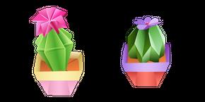 Origami Cactus Cursor