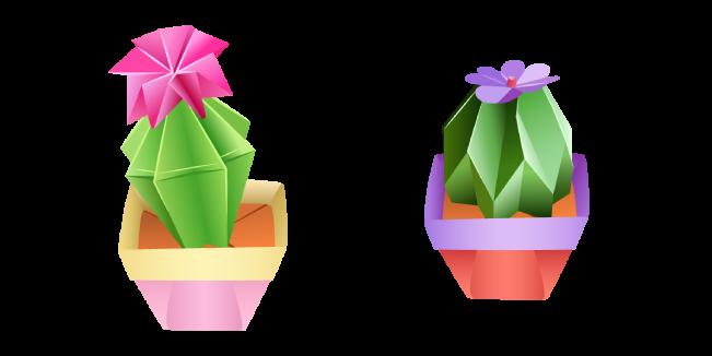 Оригами Кактус