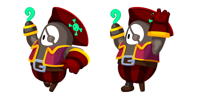 Fall Guys Pirate Costume